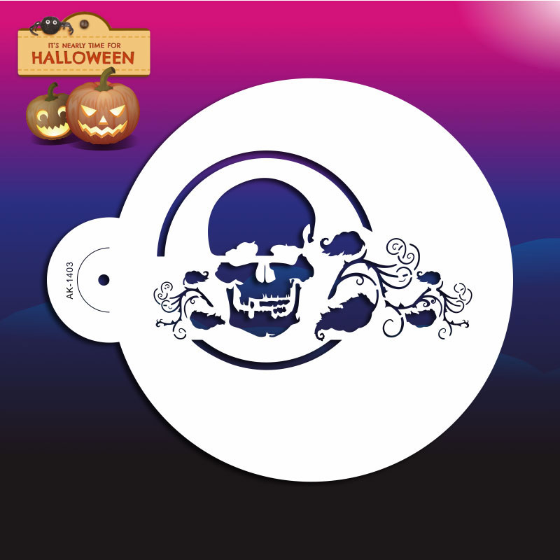 Halloween Cake Decorating Templates : Popular Free Skull Stencils-Buy Cheap Free Skull Stencils ...
