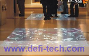 111 effectives Interactive floor projection system ,software+hardware(China (Mainland))