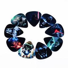 Горячие ВЫБОРКА fashion10pcs Новый Star Wars Медиаторы Толщина 0.71 мм аксессуары для музыкальных инструментов(China (Mainland))