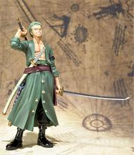 Аниме один кусок Roronoa Зоро фигурку игрушки 15 см (6.3 «) ПВХ кукла бесплатная доставка, нет оригинальная Коробка