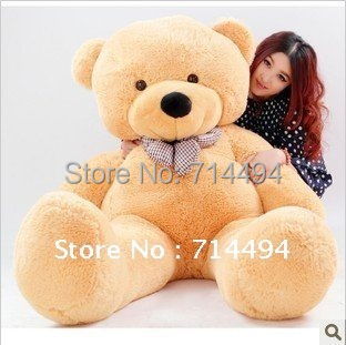 High quality Low price Plush toys large size100cm / teddy bear 1m/big embrace bear doll /lovers/christmas gifts birthday gift(China (Mainland))