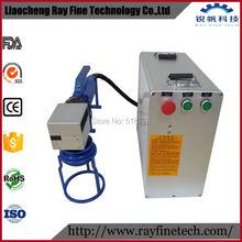DHL FREE SHIPPING RAYCUS metal fiber laser marking machine 30W