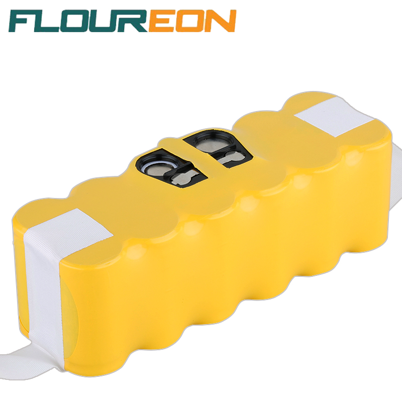 For iRobot Roomba FLOUREON 14.4V 3500mAh Ni-MH Vacuum Cleaner Rechargeable Battery Pack Replacement for 500 550 560 780(China (Mainland))