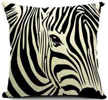 Zebra Stripe throw pillows