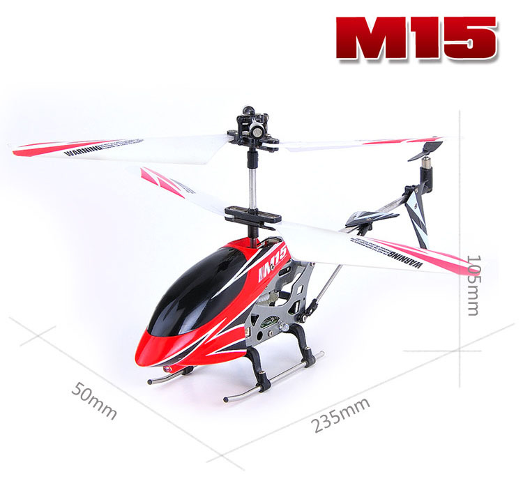 Skytech Metal edition Gyro remote control RC Helicopter Toys Gift M15 3CH Remote Control Best Children - Uooei's Store--Ship From Hongkong store