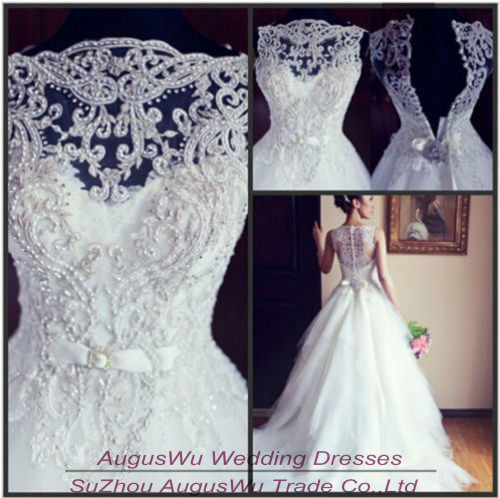Buy wwl503 vintage ball gown boat neck for Vintage wedding dress patterns free