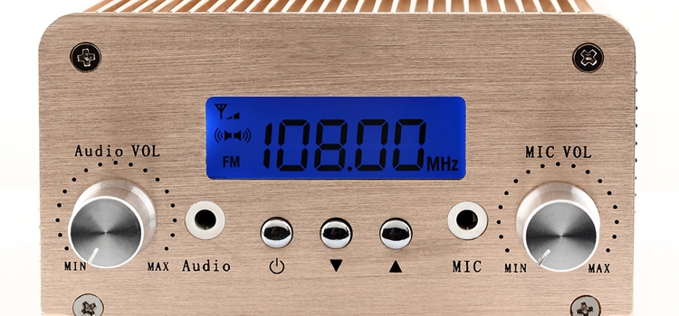 6W stereo Bluetooth wireless FM transmitter fm transmitter PC power control intelligent broadcasting(China (Mainland))