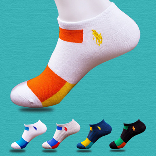 5pairs men's socks 100%Cotton athletic low cut ankle socks sports gymfit boat sock branded embroidery logo cosy best socks(China (Mainland))