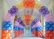 BL0203 500pieces/lot 10inch pearl balloons Party Decoration Birthday Balloons Latex arch for decoration globos ballons classic(China (Mainland))