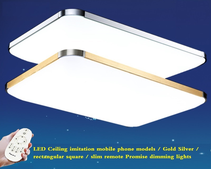 Фотография LED Slim Ceiling / with remote control stepless dimming lights