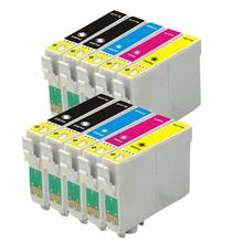 10 Compatible EPSON XP-200 XP-300 XP-400 XP-310 XP-410 XL Printer ink cartridge T2001-T2004