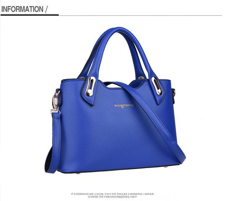 Famous Handbag Designers Tote PU Leather Bags Satchels Luxury Famous Brand Shoulder Handbag