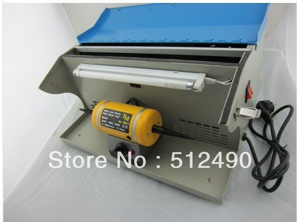 jewelry machine ,Jewelry polishing machine with dust collector &gold grinding motor(China (Mainland))