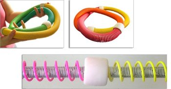 Fitness Equipment 10pcs Fitness Circle,Fashion Spring Hula Hoop,Slimming hula hoop,new item for the worldwide market