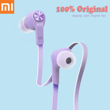 Xiaomi Piston 3 Youth Edition Colorful Original Headphones with Microphone Remote Control For Smartphone(China (Mainland))