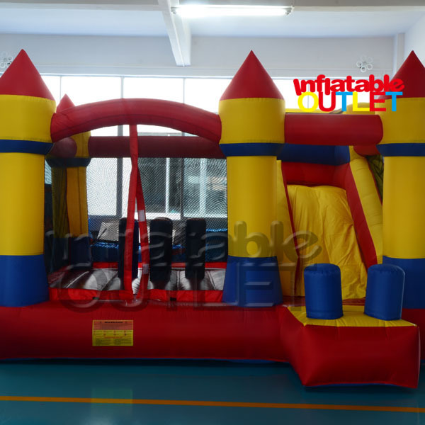 Residential bounce house inflatable combo slide bouncy castle jump inflatable bouncer(China (Mainland))