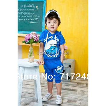 2015 NEW  babys casual hooded sports suits girls boys Cartoon clothing set children Wizard suits kids clothes set