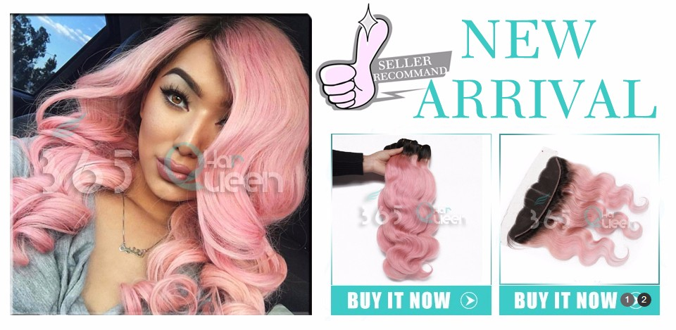 8A Ear to Ear 13×4 Lace Frontal Closure With Bundles Indian Virgin Hair Straight Pure Pink Natural Hairline With Baby Hair