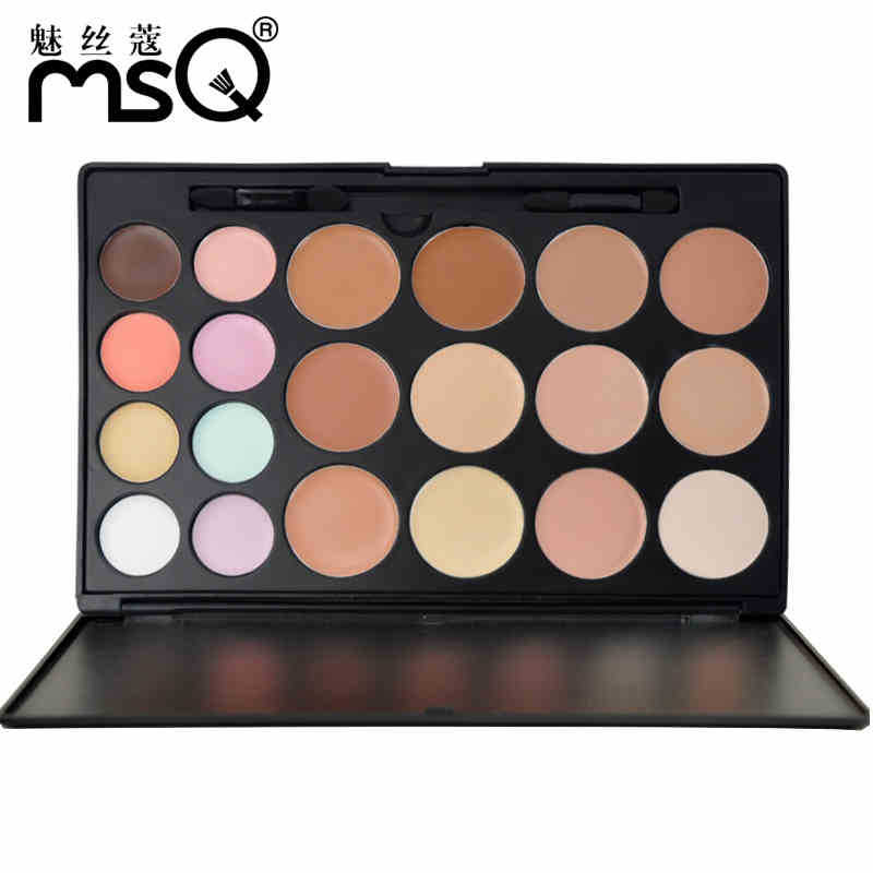 Professional 20 Colors Makeup Foundation Blush Concealer Palette Set Cosmetic(China (Mainland))