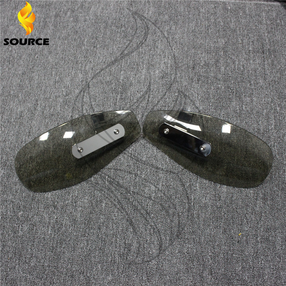 motorcycle wind shield handle hand guards ABS motocross transparent handguards FOR Suzuki stimulate 400 Bandit 250/400 GSX400(China (Mainland))
