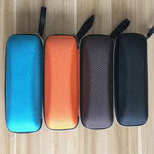 High Quality Fashion Colorful Zipper Hook Sunglasses Box Compression Glasses Case GS-095 Glasses Eyewear Box Shell Cover Bag