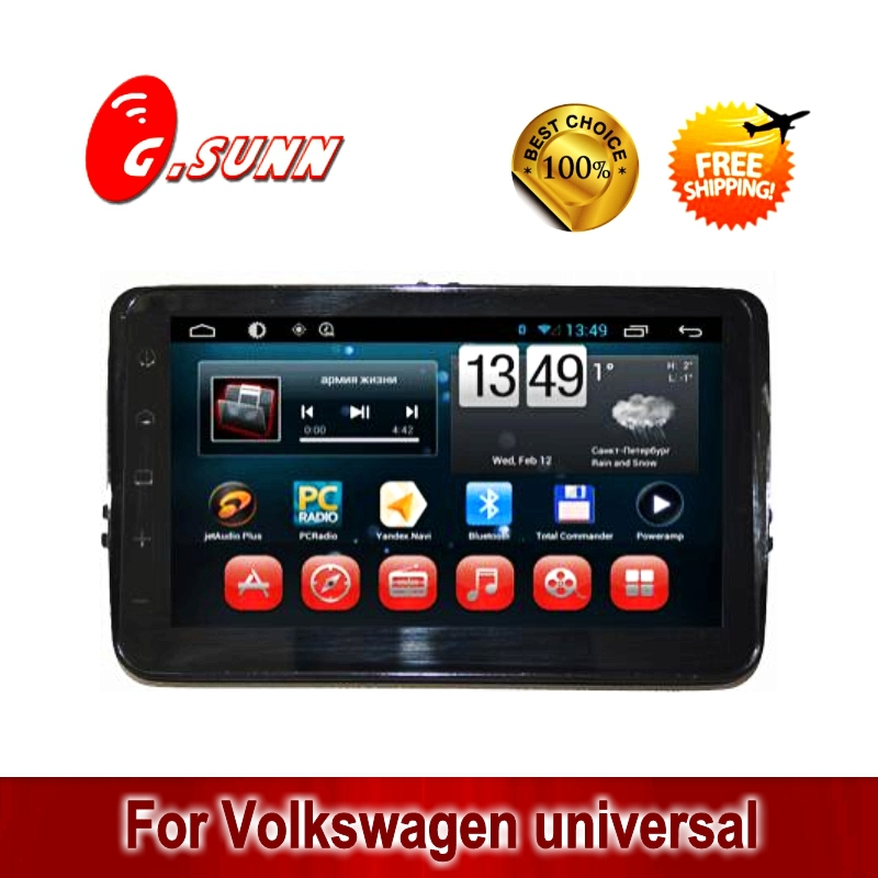 Free shipping Full touch screen 8 inch pure deckless car pc car computer pad for VW 13 models(China (Mainland))