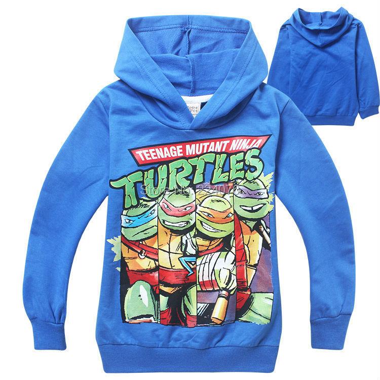 Teenage mutant ninja turtles children boys clothing spring autumn children kids baby boys outerwear coat 2 to 9 years old(China (Mainland))