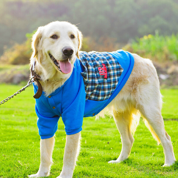 Brand Designer Dog Clothes 2015 New Big Dog Winter Clothes Dog Coats For Large Dogs Coat Autumn Winter Costume Pets Clothing(China (Mainland))