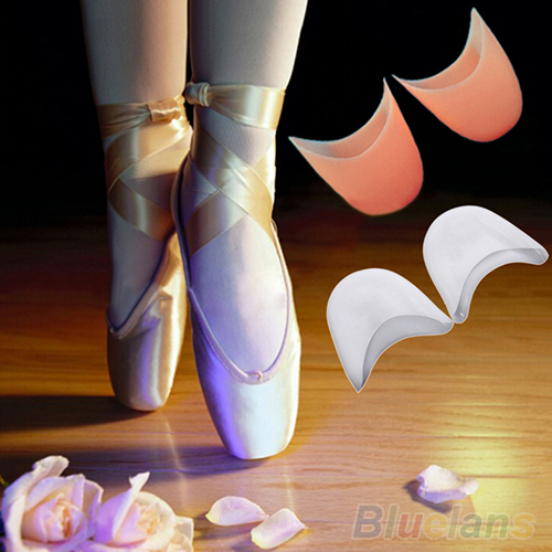 Women's Girl's Professional Soft Ballet Pointe Silicone Gel Toe Dance Shoe Pads 2MUT(China (Mainland))