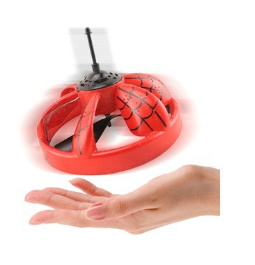 13.9*13.1cm Magic Hand Induction Floating UFO Saucer Aircraft Flash Remote Control Helicopter Frisbee Toys(China (Mainland))