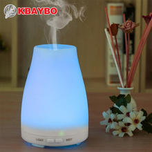 Ultrasonic Humidifier Aromatherapy Oil Diffuser Cool Mist With Color LED Lights essential oil diffuser Waterless Auto Shut-off(China (Mainland))