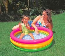 61 * 22 см трициклическое цвет младенцы игра бассейн дети бассейн надувной сейф бассейн дети падение температуры играет бассейн