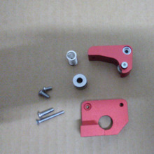wholesale 3D printer Makerbot Replicator 2x left side extruder, upgrade edition full metal aluminum extruder right way
