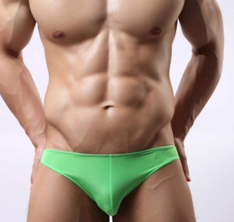 men sexy underwear silk seamless breathable pants sexy briefs(China (Mainland))