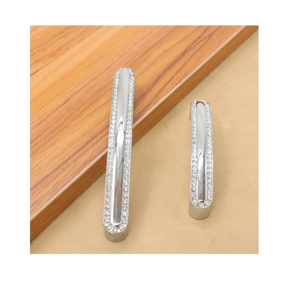 Modern Furniture Handles Hardware Crystal Set Diamond Knob Drawer Wardrobe Kitchen Cabinets Cupboard Pull Door Accessories(China (Mainland))