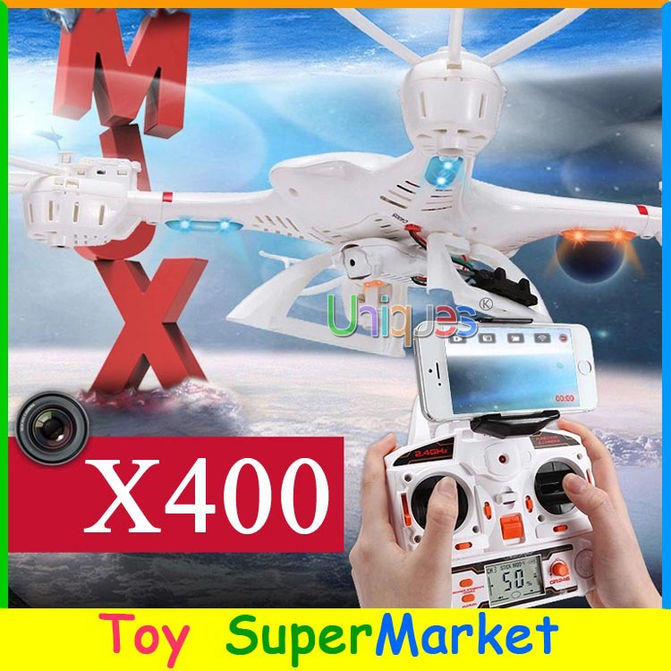 MJX X400 RC Quadcopter with Camera FPV iPhone Android Wifi Remote Control Helicopter UFO Drone Avion GPS RTF 4CH VS H107D H9D(China (Mainland))