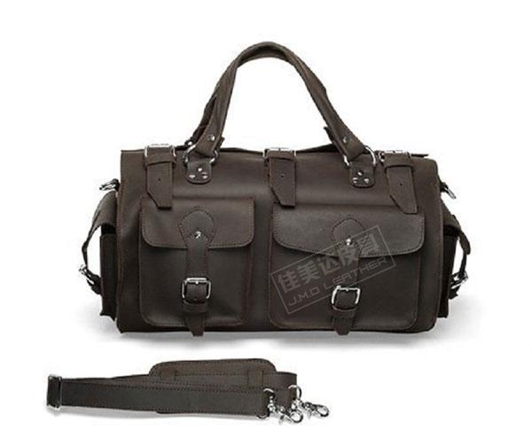HOT SALE! leather bag travel bag luggage Luggage field bag 7094r(China (Mainland))