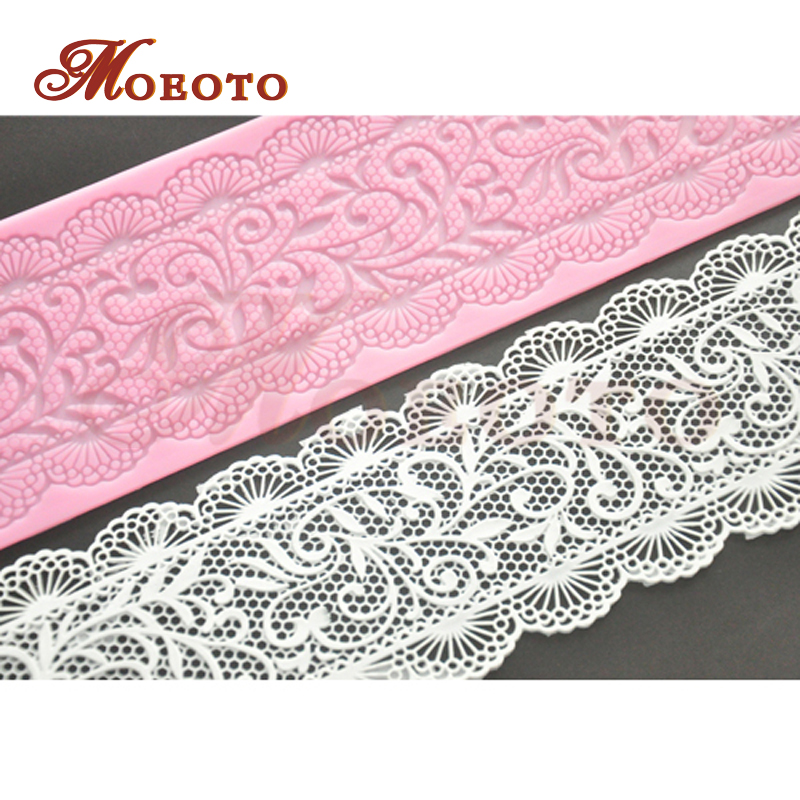New fondant flower lace mat,silicone flower stencil ,pastry lace silicone molds,cake decorating tools,free shipping(China (Mainland))