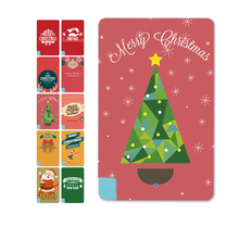Red&Green Merry Christmas Style 5600mAh Power bank External Battery Mini Card Charger for Iphone