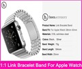 HOCO 1 1 Original Link Bracelet Straps For Apple Watch 38MM 42MM Made By 316L Stainless