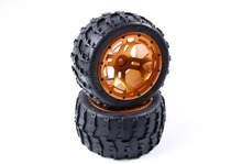 Buy Rovan parts 1/5 scale gas rc baja tyres parts BM FG Truck CNC alloy wheel hubs tyres 86019 for $135.00 in AliExpress store