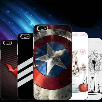 Thin appearance Simple design value offers huawei honor 4x Case Slim Plastic Case + colored cartoon cover For honor 4x case(China (Mainland))