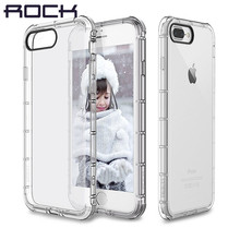 For Apple iphone 7 Case ROCK Original Fence Drop Protection Clear Anti knock Case for iPhone7 Plus Back Cover(China (Mainland))