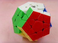 New Free shipping of Dayan Megaminx Stickerless( colored) I  with or without  corner ridges