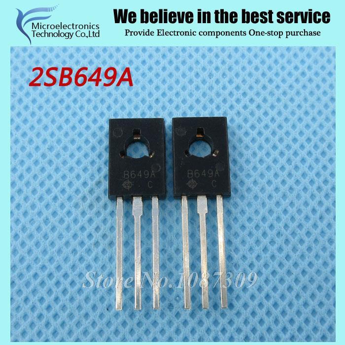 20pcs free shipping 2SB649A B649A B649 TO-126 Power amplifier for 1.5A160V PNP new original(China (Mainland))