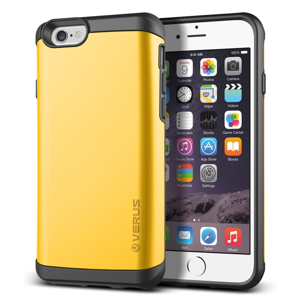 Original VERUS For Apple iPhone 6/6S Case Preminum Veil Series Dual Layered Hard Back Hybrid Cover With Card Storage And Mirror(China (Mainland))