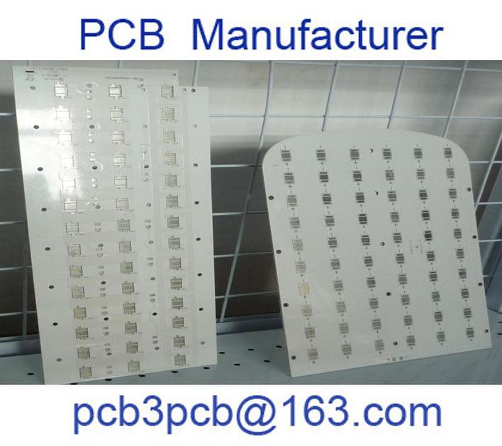aluminium led 2 layer pcb manufacturer led pcb aluminum plate high quality(China (Mainland))