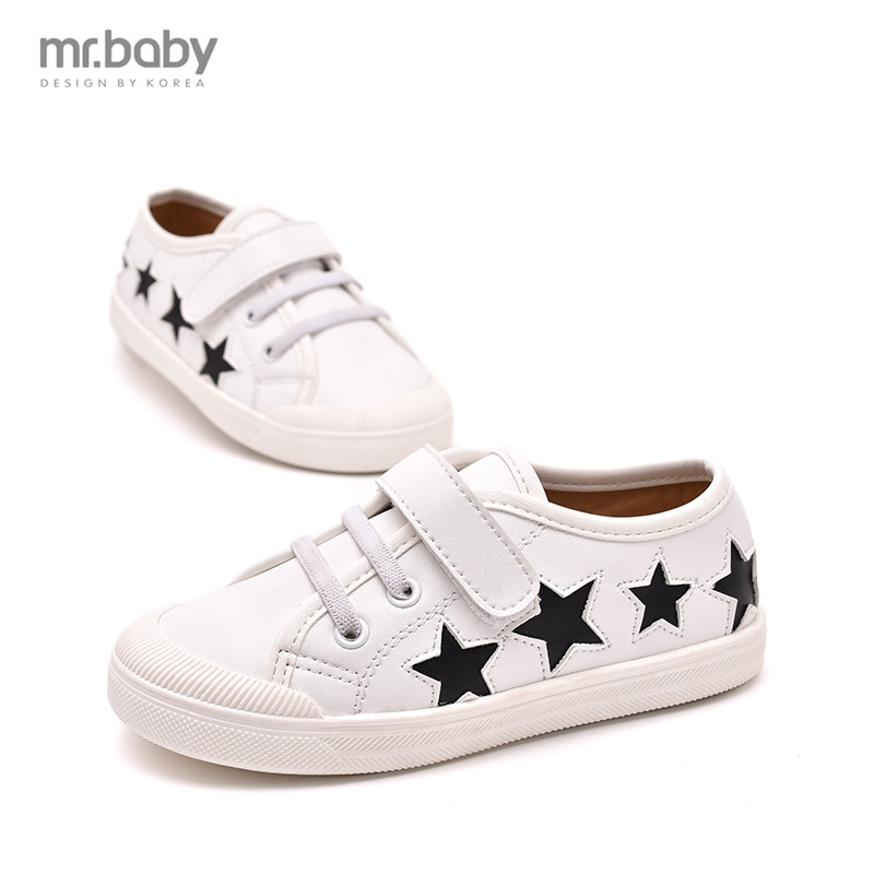 mr baby 2016 spring and autumn Korean version of the new wild child comfortable casual font