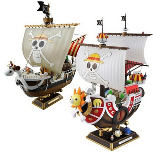One Piece THOUSAND SUNNY Onepiece Figure 280mm PVC Assembly Onepiece Action Figures Toys Going Merry(China (Mainland))