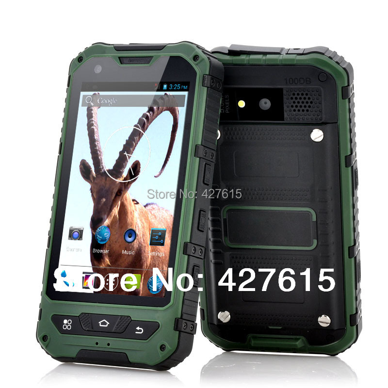 A8 ip67 shockproof cellular Dustproof cell phone Outdoor telephone rugged mobile phones waterproof smart phone waterproof(China (Mainland))